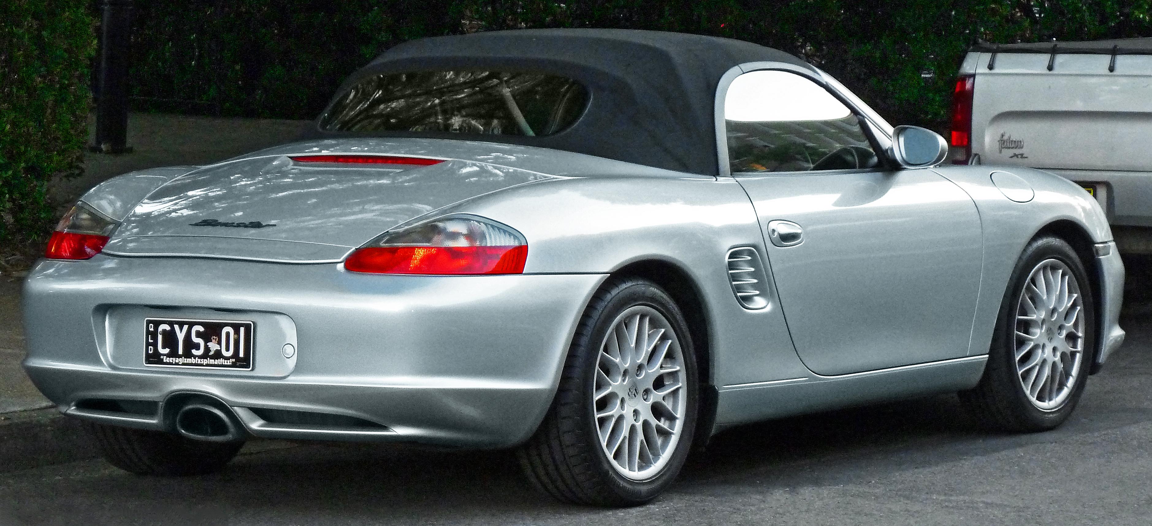 2002-2004 Porsche Boxster